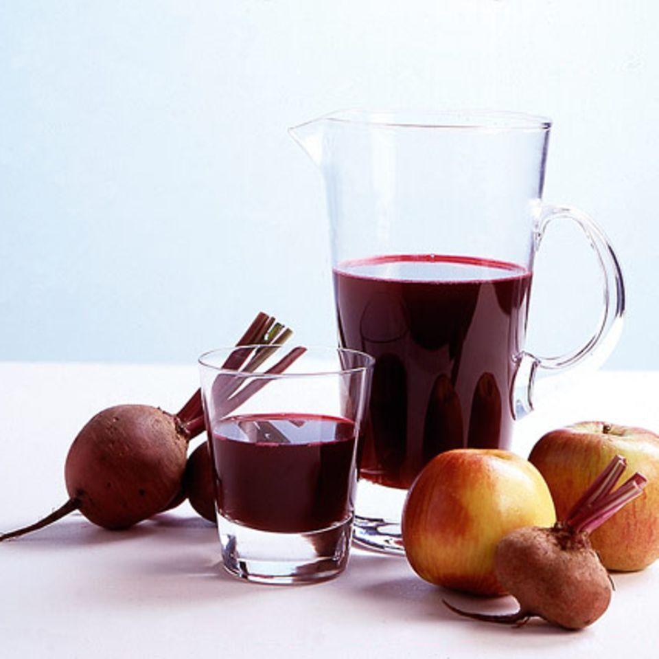 Apfel-Rote-Bete-Saft