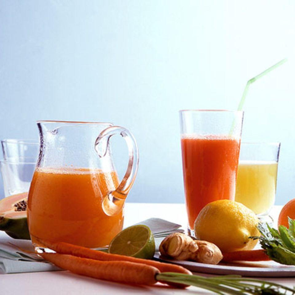 Grapefruit-Möhrensaft