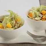 Weißkohl-Mango-Salat
