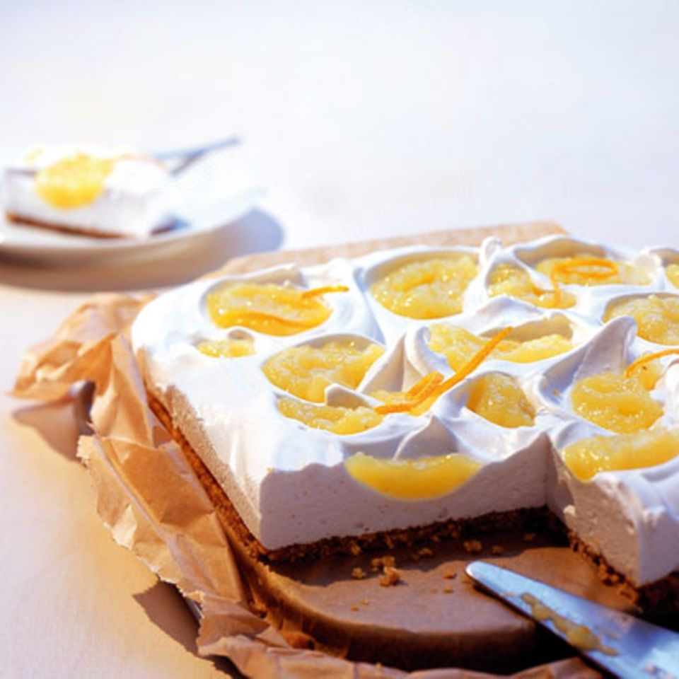 Apfel-Marshmallow-Kuchen