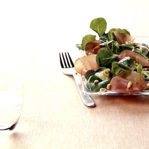 Feldsalat mit Kartoffelvinaigrette