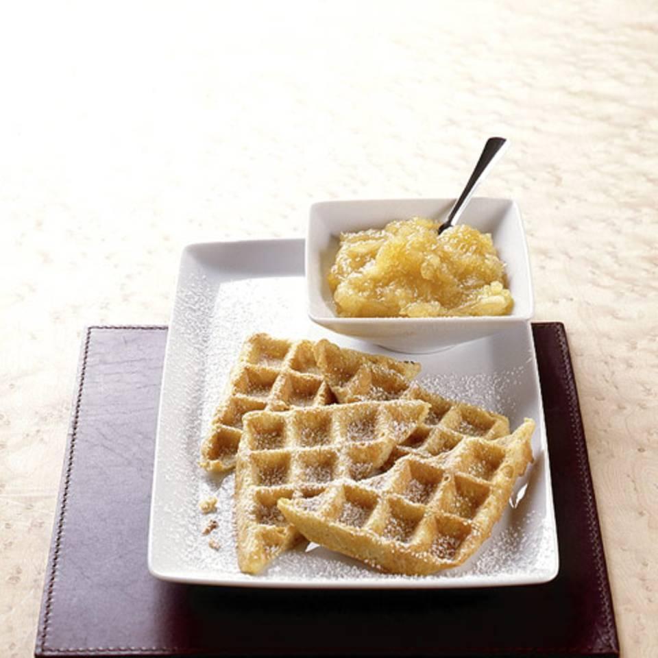 Kartoffelpuffer aus dem Waffeleisen Rezept