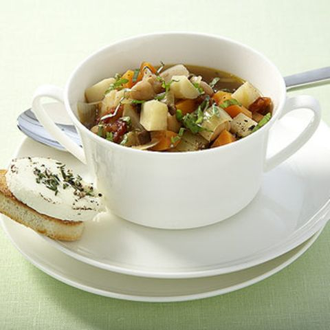 Suppengrün-Minestrone