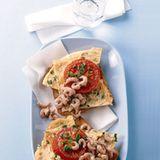 Krabbenbrot mit Rührei