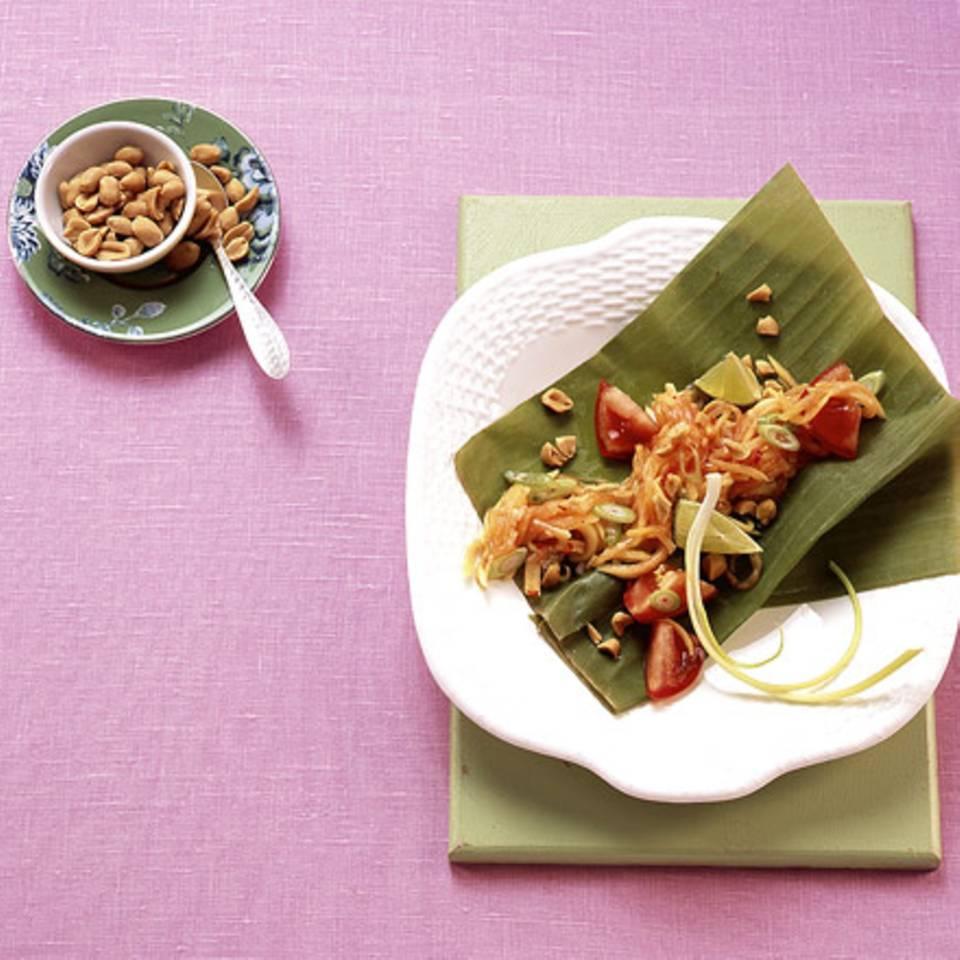 Papayasalat mit Erdnüssen Rezept