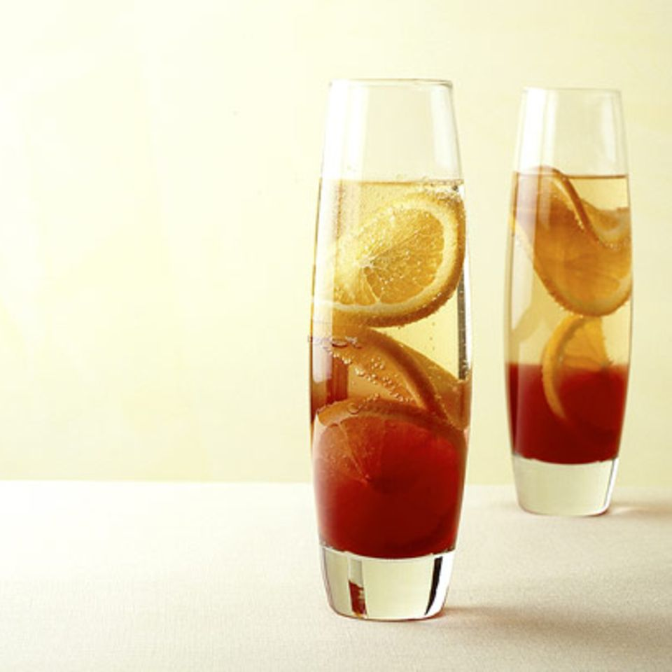 Sekt-Campari-Cocktail