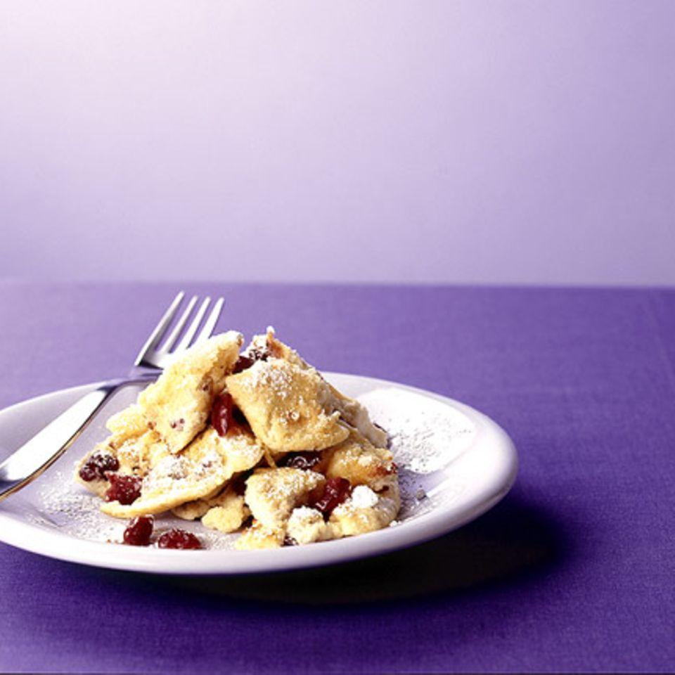 Quark-Schmarren mit Cranberries