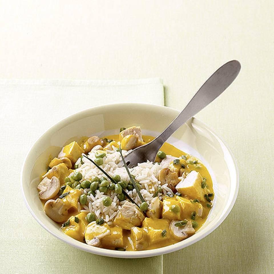 Curry-Frikassee Rezept