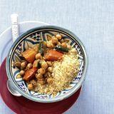 Couscous mit geschmortem Gemüse