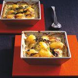 Rahm-Porree-Kartoffeln