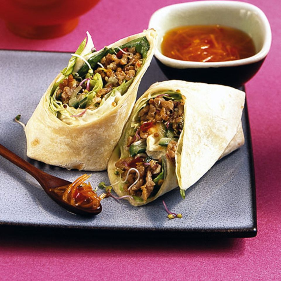 Salat-Wrap