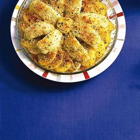 Kartoffel-Fenchel-Gratin