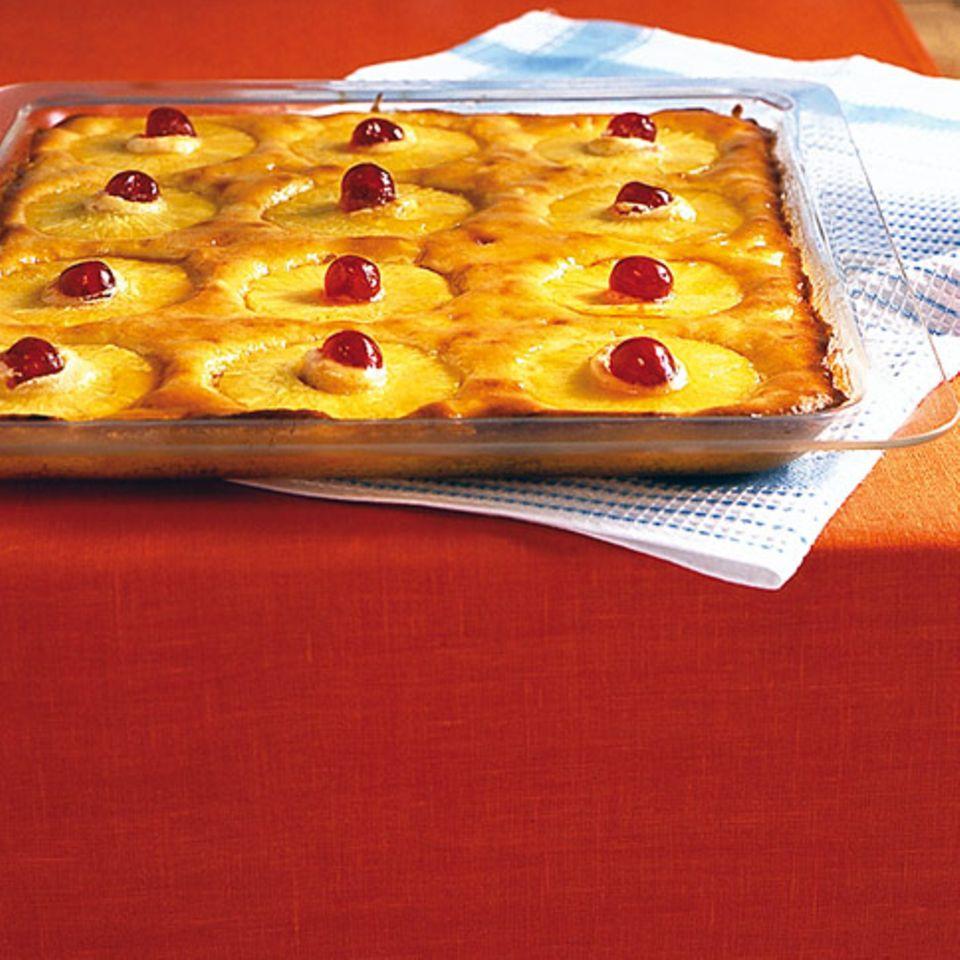 Zitrus-Ananaskuchen