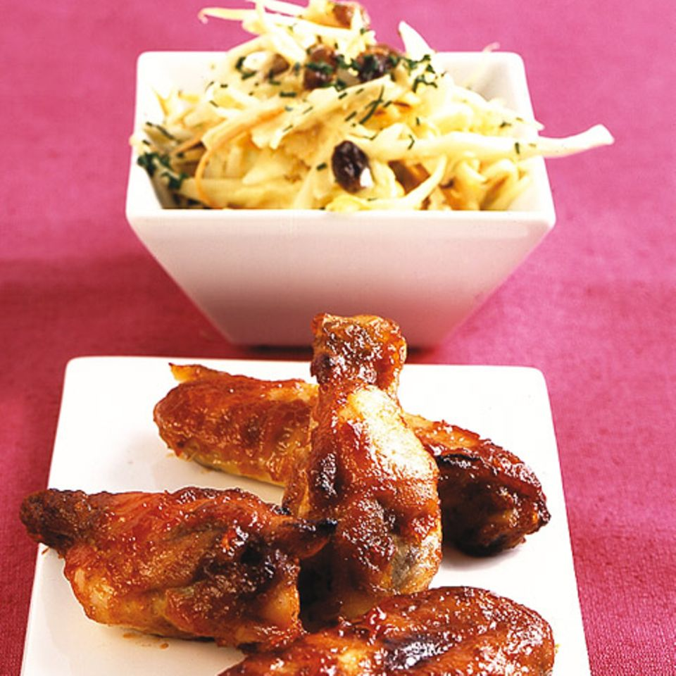 Chickenwings mit Barbecuesauce