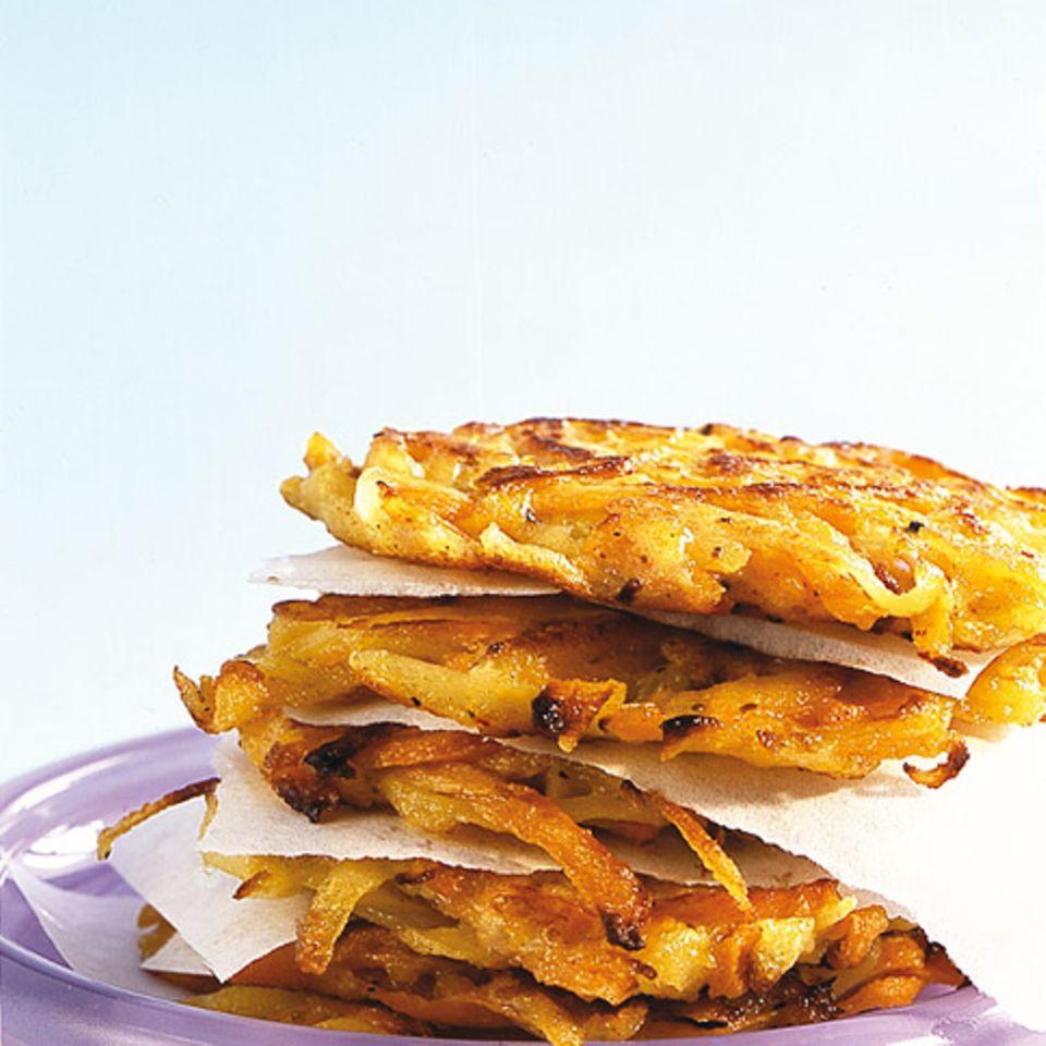 Möhren-Kartoffel-Rösti