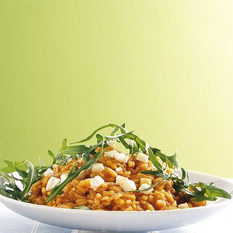 Tomaten-Mozzarella-Risotto