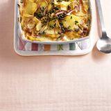 Kartoffelgratin mit grünem Pfeffer