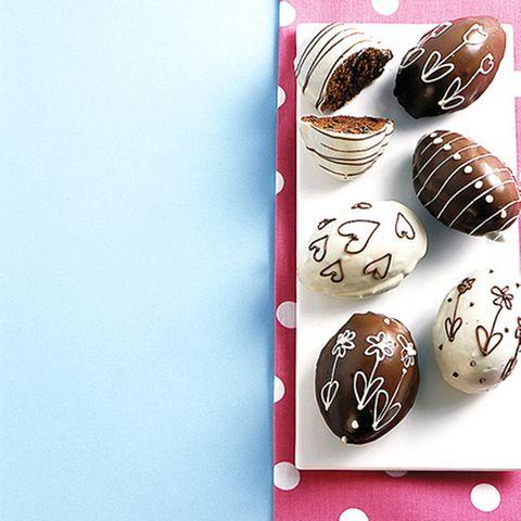 Gebackene Schoko-Eier