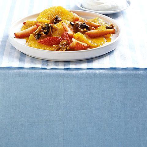 Karamellisierte Orangen