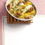 Kartoffel-Spitzkohl-Auflauf
