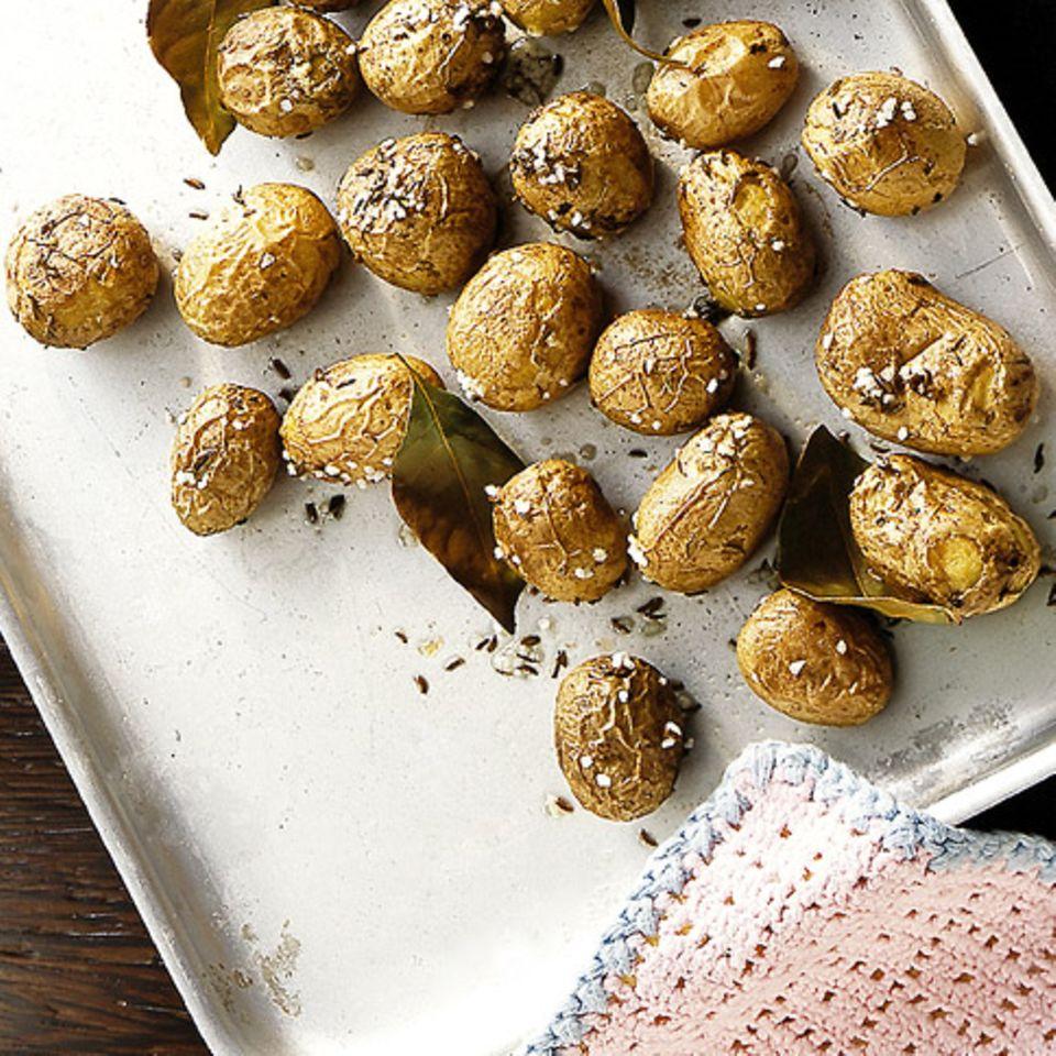 Ofenkartoffeln mit Kümmel