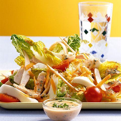 Kleine Salatplatte
