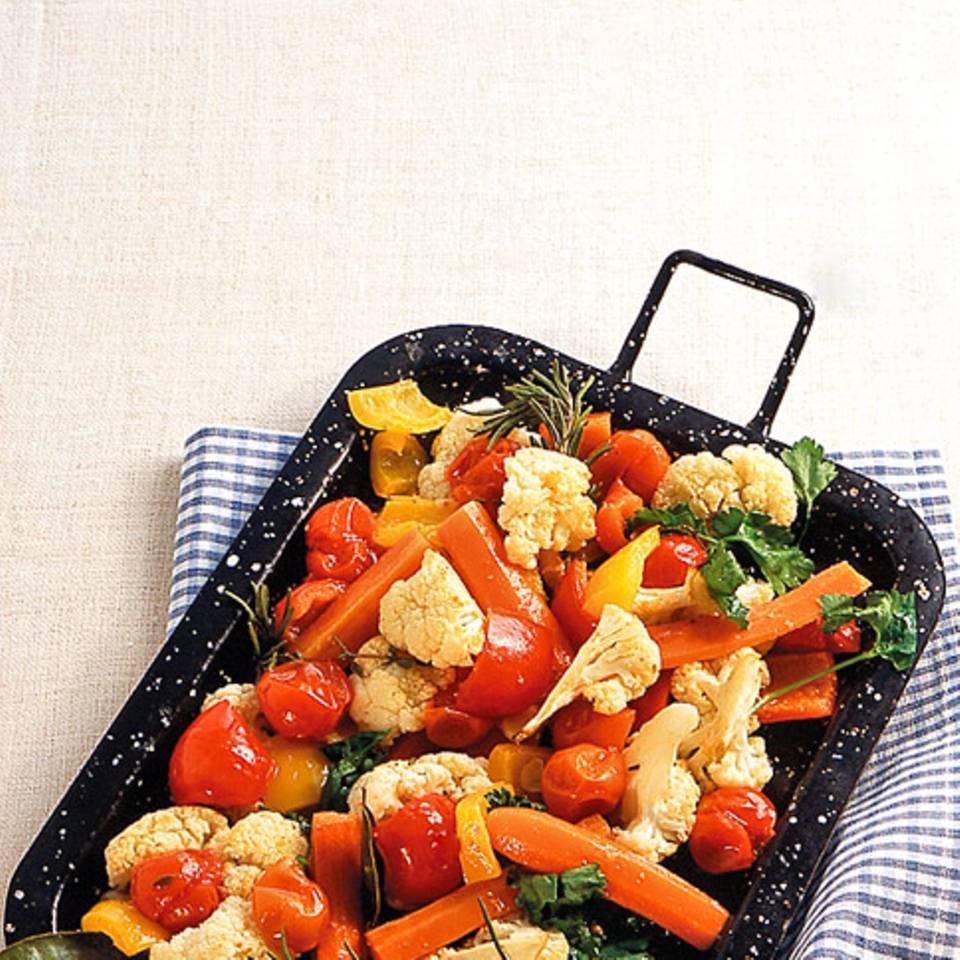 Gemüse vom Blech Rezept