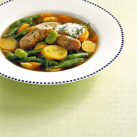 Wurst-Gemüse-Eintopf