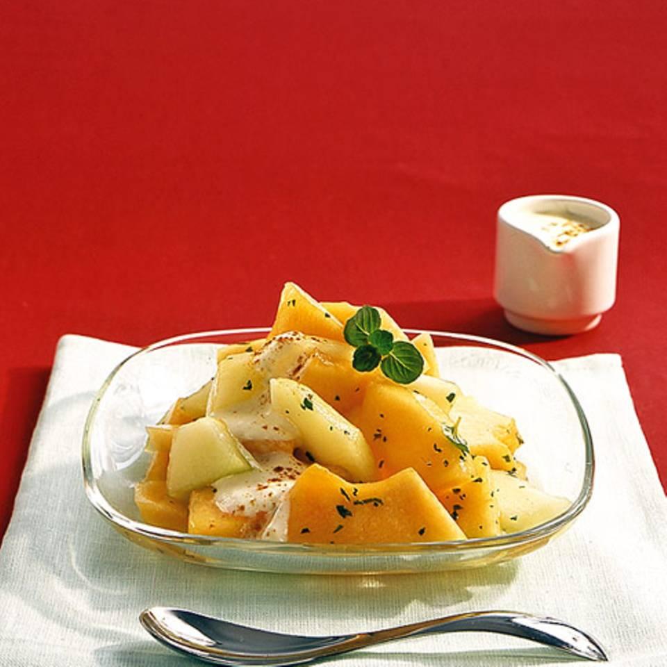 Melonensalat Rezept