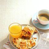 Marzipan-Croissants