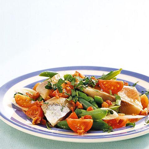 Matjes-Bohnen-Salat