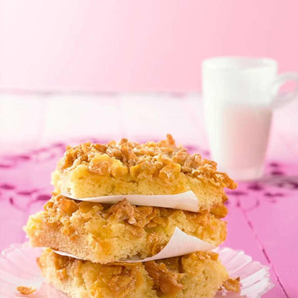 Cornflakes-Butterkuchen Rezept