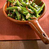 Grüne Bohnen mit Mandeln & Chili