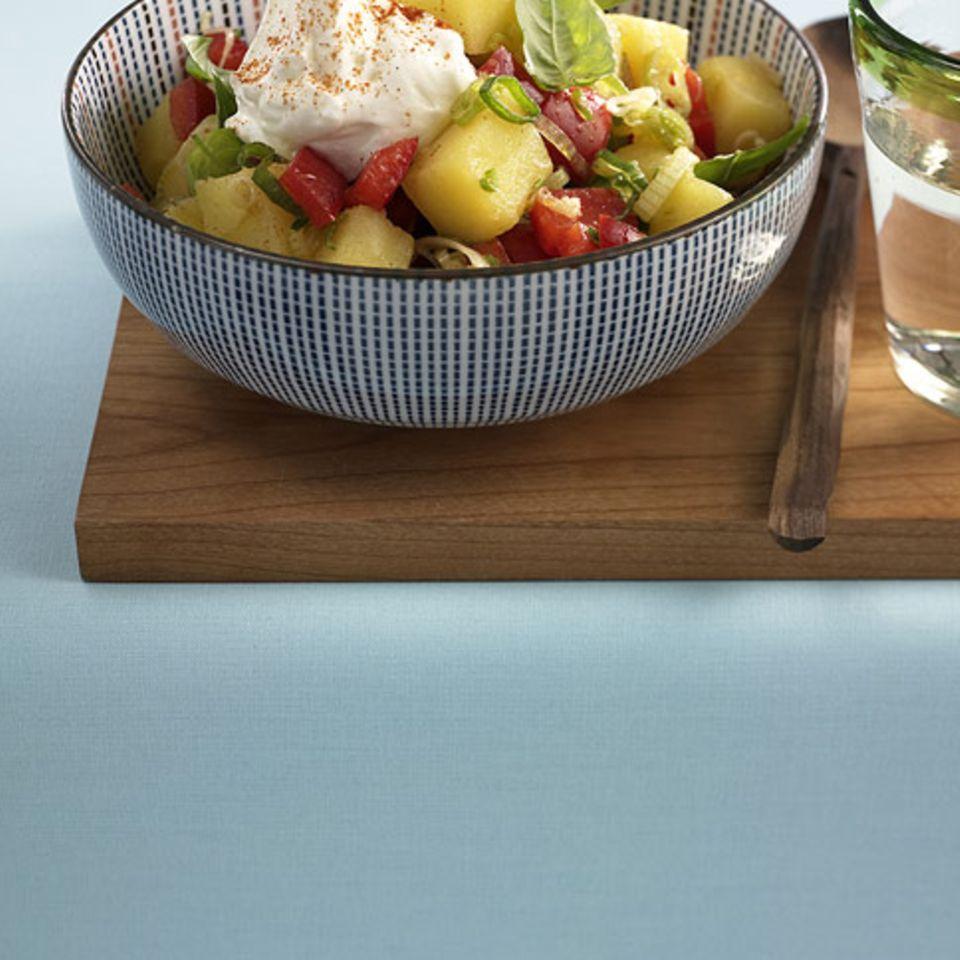 Paprika-Kartoffelsalat