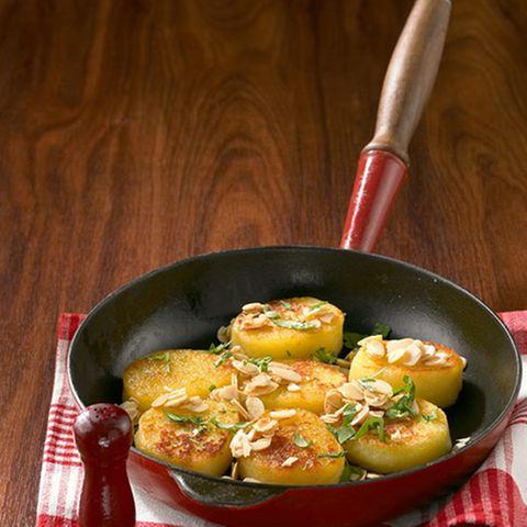 Gebratener Kartoffelkloß