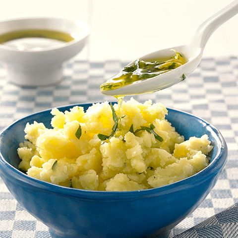 Zitronen-Stampfkartoffeln