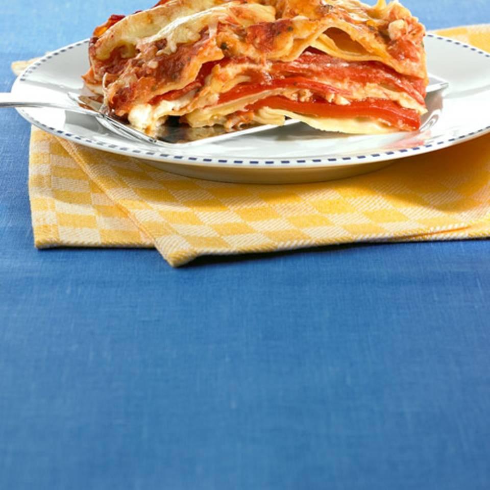 Paprika-Lasagne Rezept