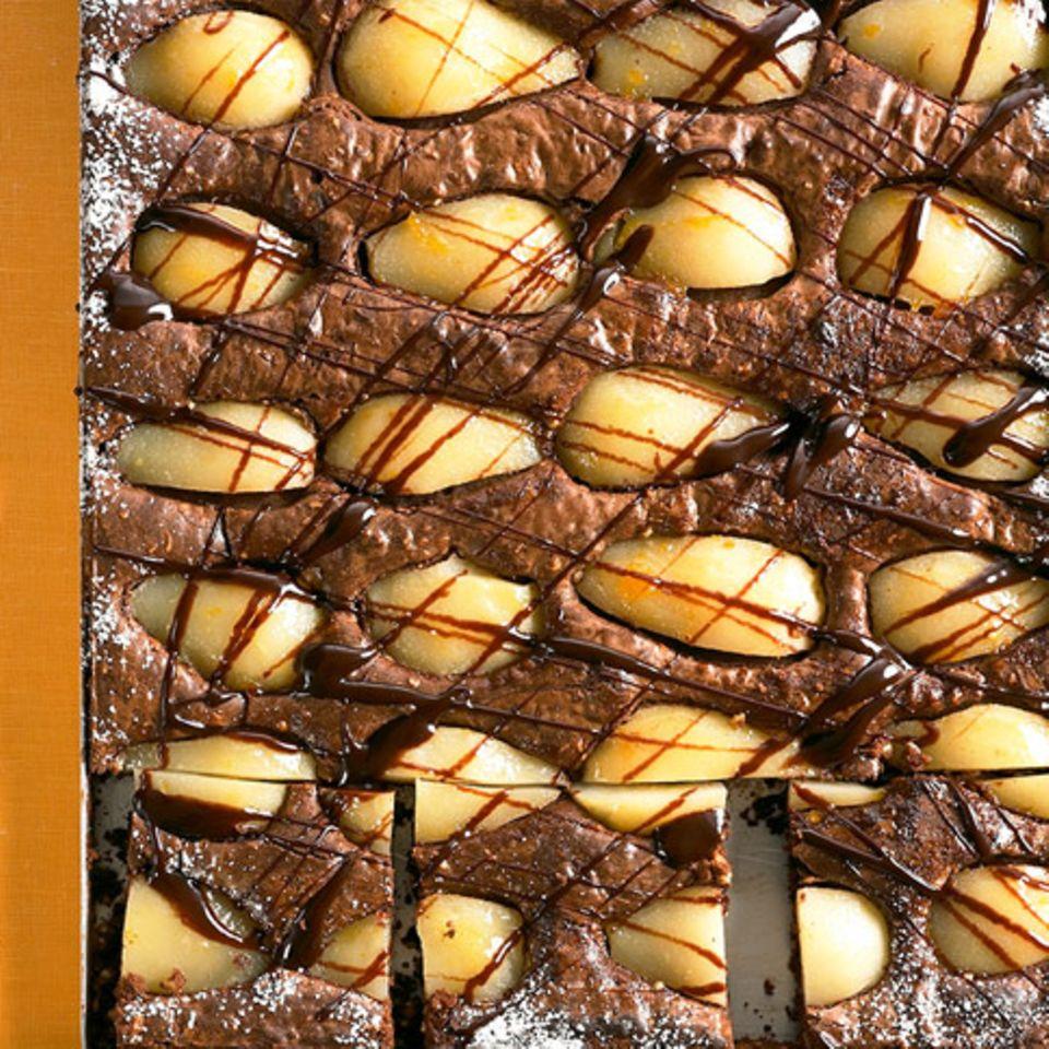Birnen-Brownies