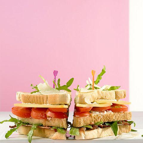 Käse-Club-Sandwich