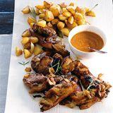 Spanferkel mit Mojo Picon und Röstkartoffeln