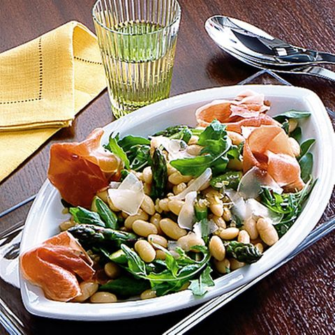Lauwarmer Palbohnen-Salat