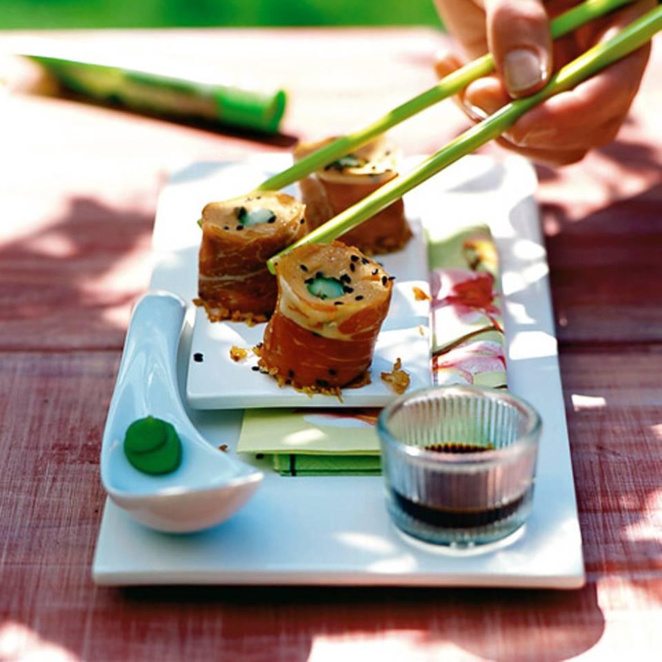 Süßkartoffel-Sushi Rezept
