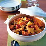 Süßkartoffel-Paprika-Ragout