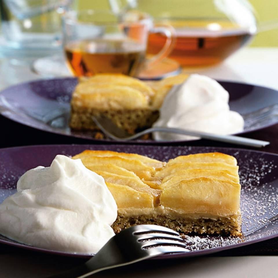 Apfel-Mohn-Kuchen Rezept