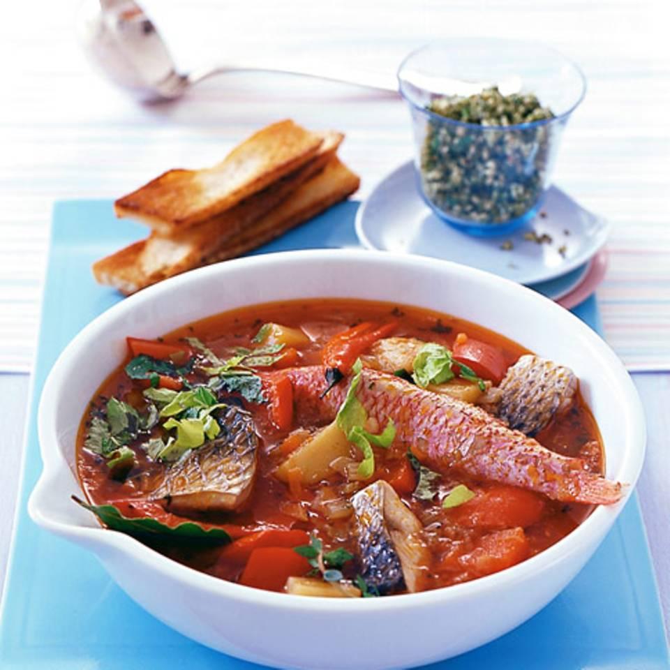 Fischeintopf (Caldereta) Rezept