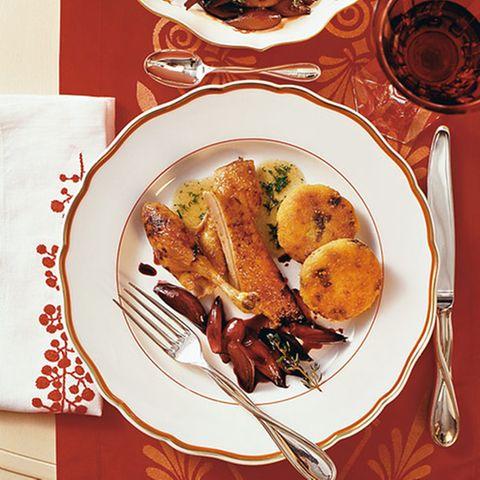 Glasierte Wildente mit Lebkuchengewürz