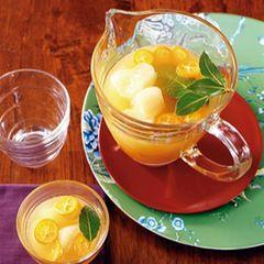 Kumquat-Lorbeercocktail