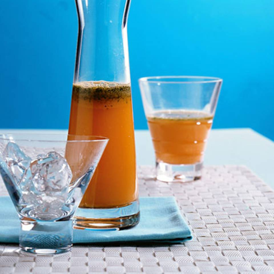 Apfel-Möhren-Saft Rezept