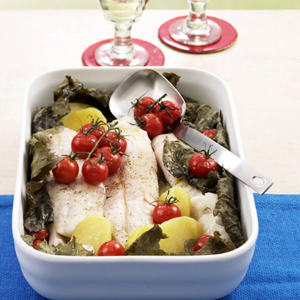 Griechischer Fischtopf Rezept