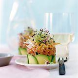 Kalbstatar mit Wasabi-Mayonnaise